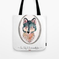 How Lucky To Be So Unusu… Tote Bag