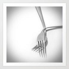 Hand in hand / Tomados de la mano Art Print