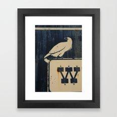 W BIRD Framed Art Print