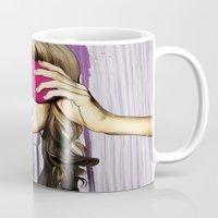 Pink Blind Fold Mug