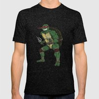 Raphael Mens Fitted Tee Tri-Black SMALL