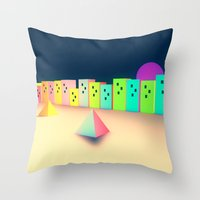 upe place Throw Pillow
