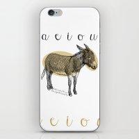 A  E  I  O  U    Borriqu… iPhone & iPod Skin