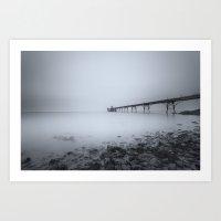 1046248 Clevedon Pier Art Print