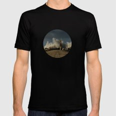 Dark Swell Mens Fitted Tee Black SMALL