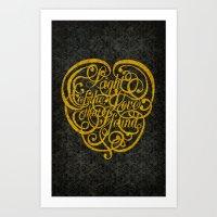 Light Of The Love Versio… Art Print