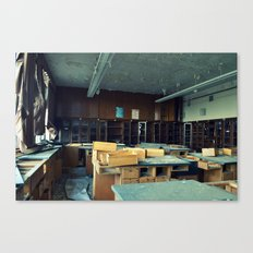 Empty Science Lab Canvas Print