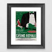 CASINO ROYALE Framed Art Print