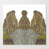 Humps! Canvas Print