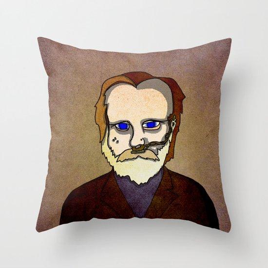 Prophets of Fiction - Frank Herbert /Dune Throw Pillow