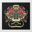 Lanceur de rêves - Alien tribe Canvas Print
