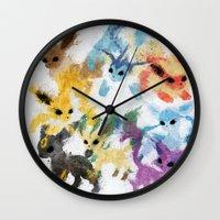 Eeveelutions Wall Clock