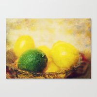 All Puckered Up ! Canvas Print