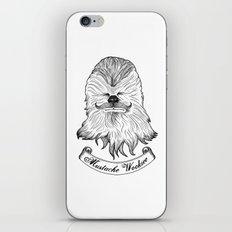 Mustache Wookiee iPhone & iPod Skin