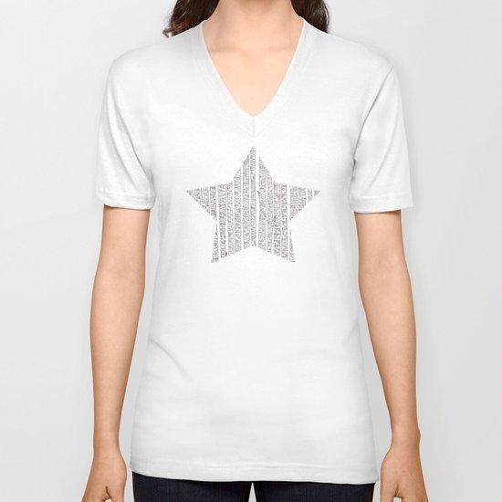 Lost In Stripes V-neck T-shirt
