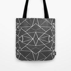 Ab Zoom Mirror Black Tote Bag