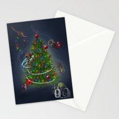 HAPPY HOLIDAYS Stationery Cards