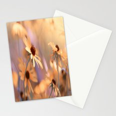 Suns star in the autumn garden Stationery Cards