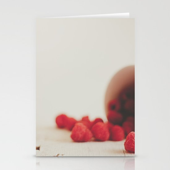 Red is the color of passion Stationery Card