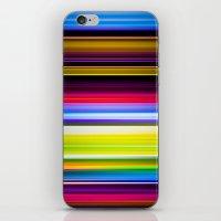 Light Beams iPhone & iPod Skin