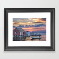 Last Light At Peggy's Co… Framed Art Print
