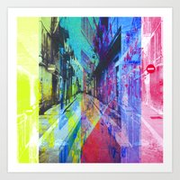 Denominated extra, cornered, nice enough, foreign. [CMYK] Art Print