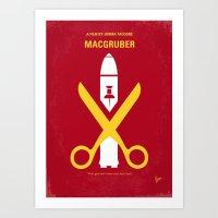 No317 My MacGruber Minim… Art Print