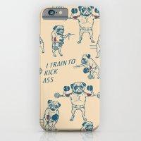Pug Workout iPhone 6 Slim Case