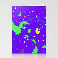 Pac-Man Stationery Cards