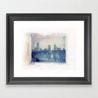 Austin Reflected Polaroi… Framed Art Print