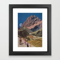 Sightseers Framed Art Print