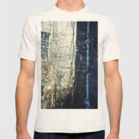 flower light Mens Fitted Tee Natural SMALL
