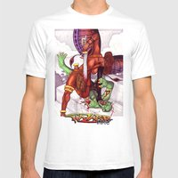 Beauty Is Not Frail Mens Fitted Tee White SMALL