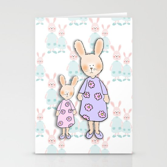 Friends :) Stationery Card