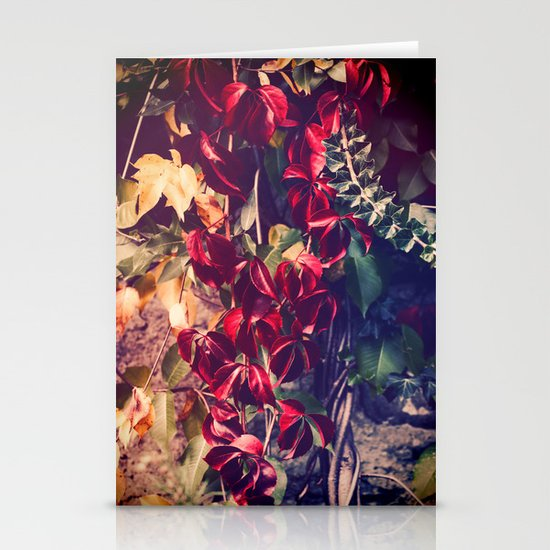 Red vine Stationery Card