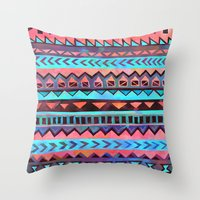 PATTERN {Tribal Stripe- … Throw Pillow