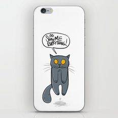 Show Me Everything! iPhone & iPod Skin