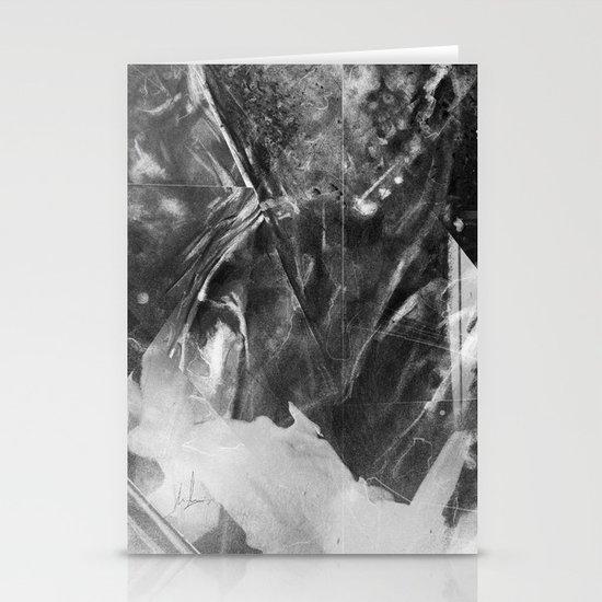Black Crystal Stationery Card