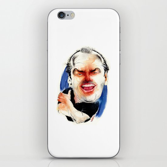 Jack Nicholson iPhone & iPod Skin
