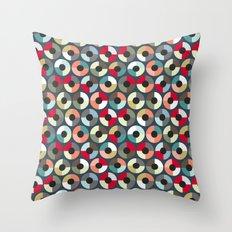 London Beauty target Throw Pillow