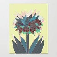 crown imperial Canvas Print