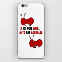 A is For Ant iPhone & iPod Skin