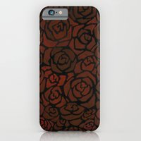 iPhone & iPod Case featuring Cluster of Roses by Sean Martorana