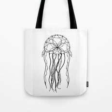 Dreamcatcher Jellyfish - Ink Tote Bag