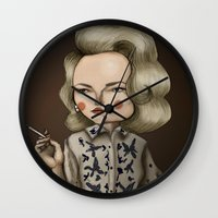 Betty Draper (Mad men) Wall Clock