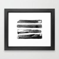 Four Worlds Framed Art Print