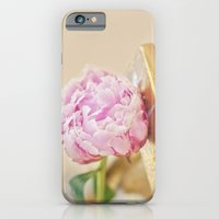 PEONY WITH GOLD iPhone 6 Slim Case