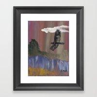 Eagle Break Framed Art Print