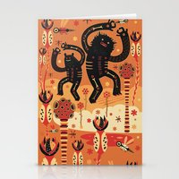 Les danses de Mars Stationery Cards