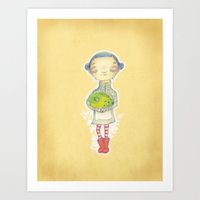 Magic Frabbit Art Print